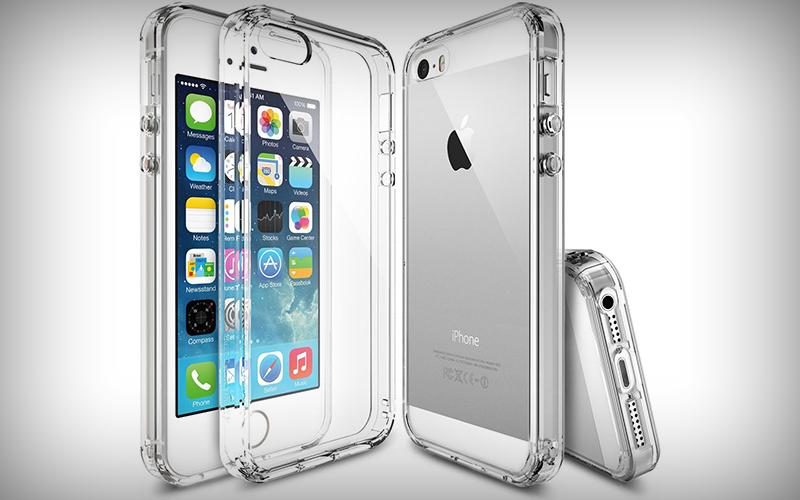 Ringke Fusion doorzichtig iPhone SE hoesje