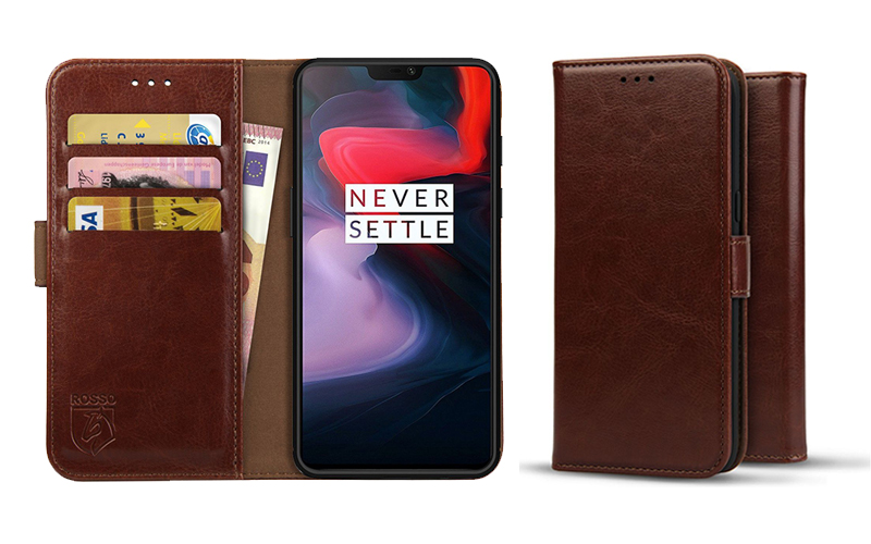Rosso Element OnePlus 6 Hoesje Book Cover