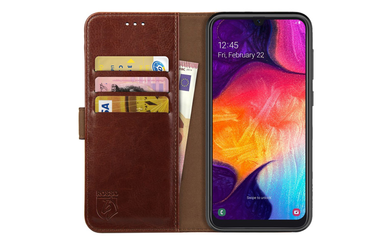 Rosso Element Samsung Galaxy A50 Hoesje Book Cover