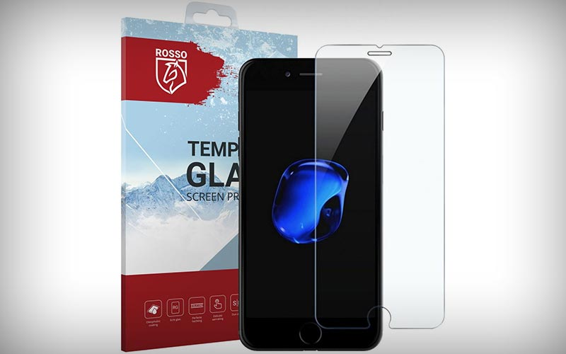 Rosso tempered glass iPhone 8