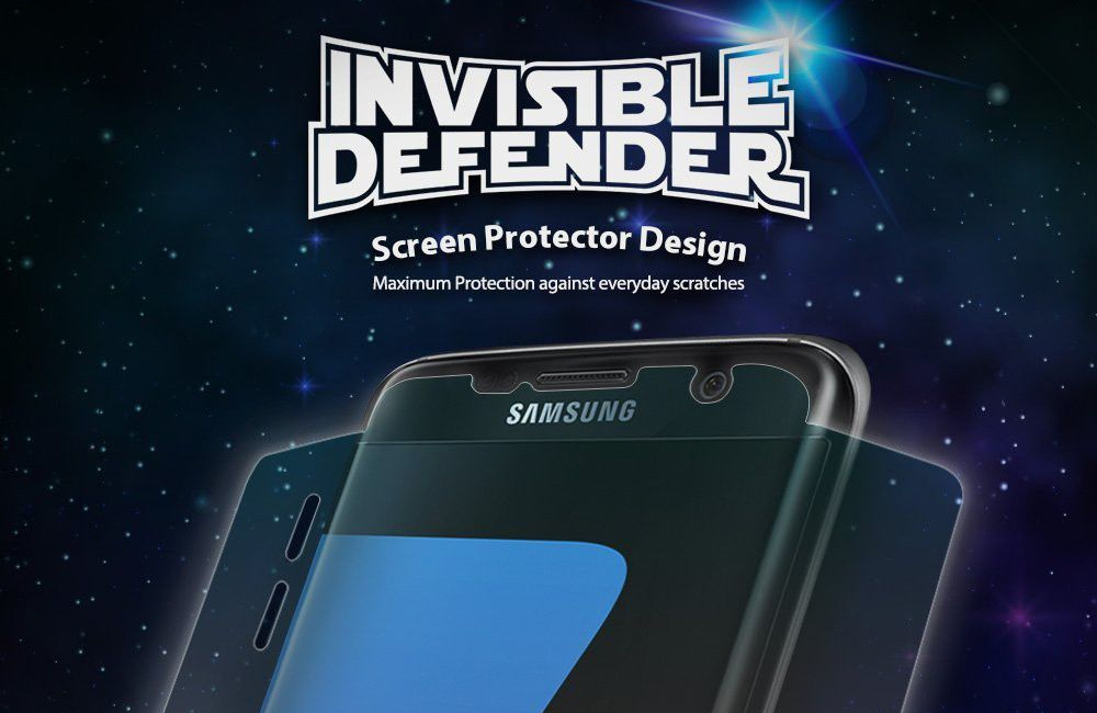 Ringke screen protector voor Samsung Galaxy S7 Edge