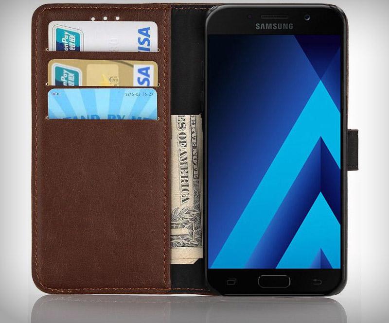 Samsung Galaxy A5 2017 Bookcover Retro Hoesje