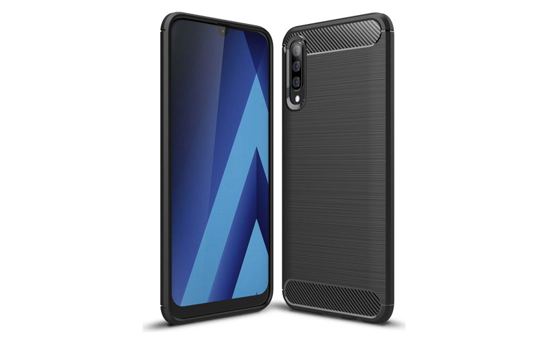 Samsung Galaxy A50 Geborsteld TPU Hoesje