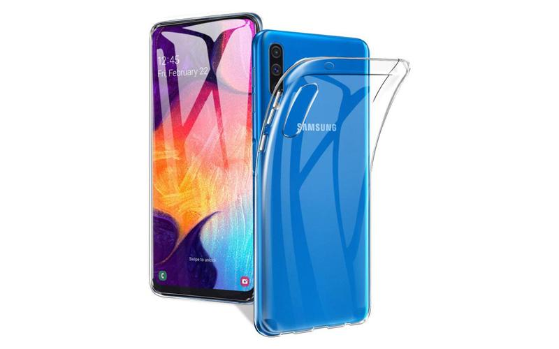 Transparant hoesje voor de Samsung A50