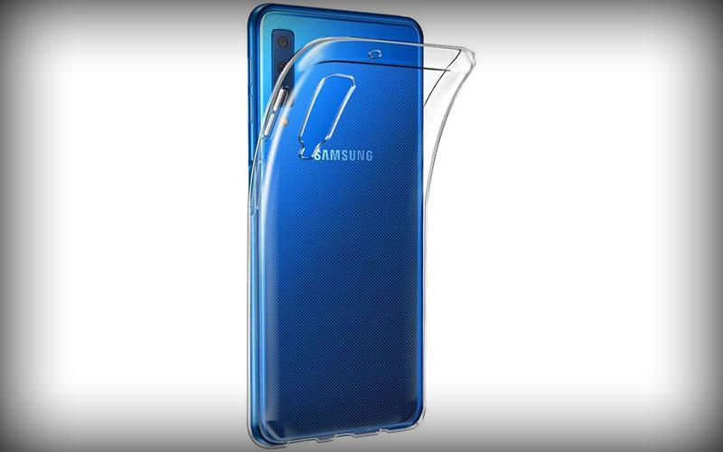 Samsung Galaxy A7 2018 Transparant Hoesje