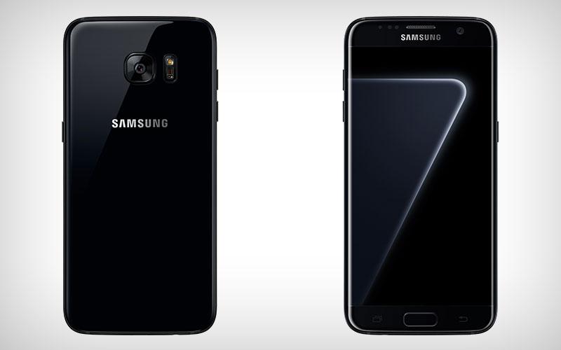 Samsung Galaxy S7 Edge Pearl Black