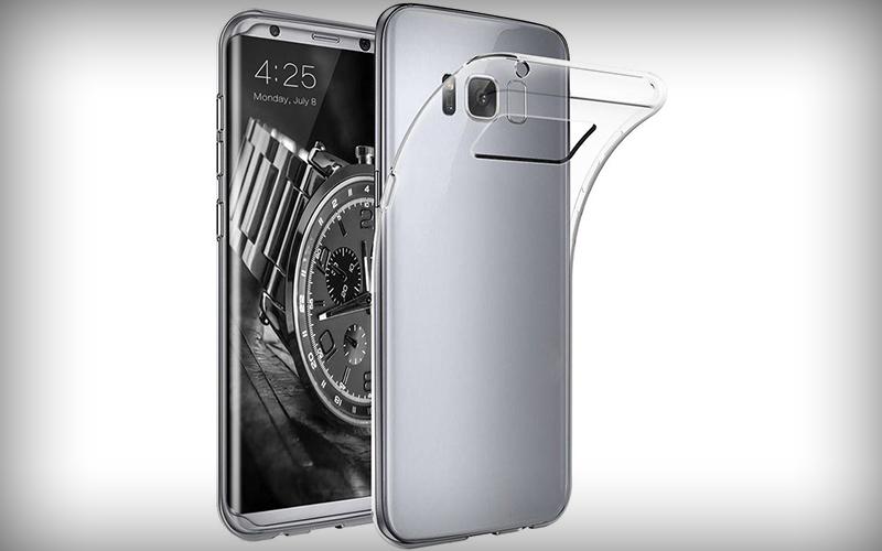 Samsung Galaxy S8 Transparant Hoesje