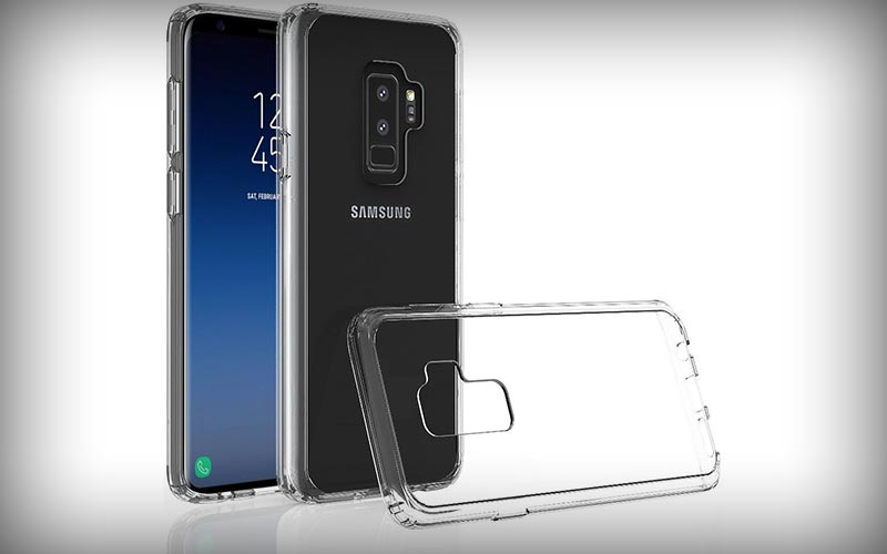 Transparant hoesje Galaxy S9 Plus
