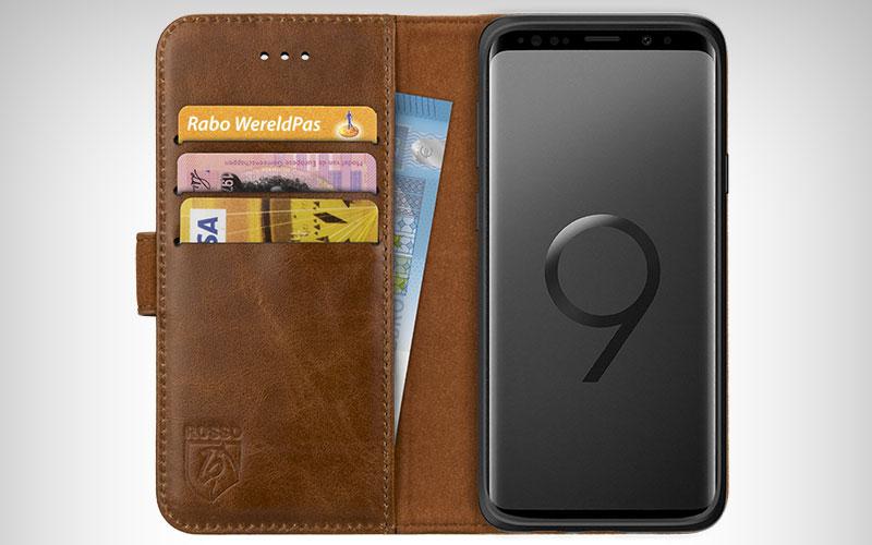 Rosso Deluxe Wallet Case Samsung Galaxy S9