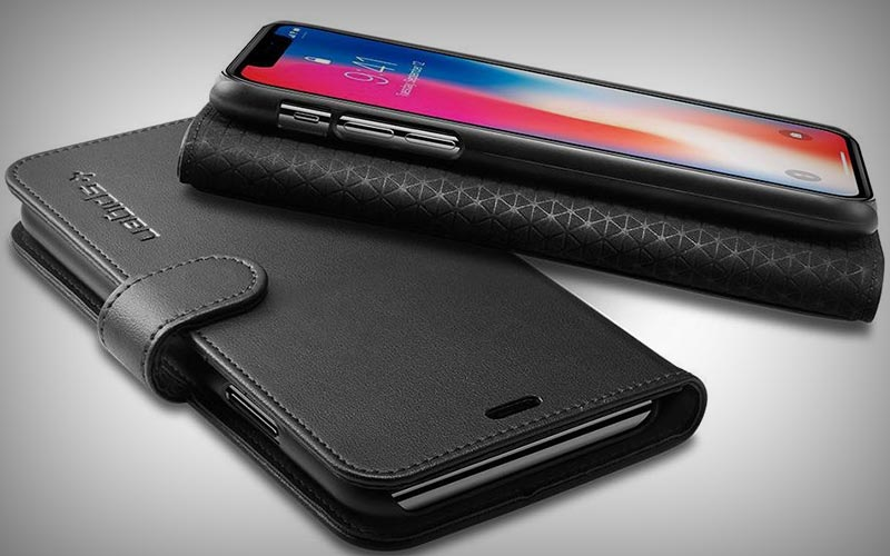Spigen Wallet S hoesje iPhone X