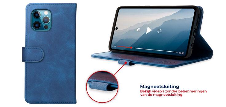 telefoonhoesje met magneetsluiting