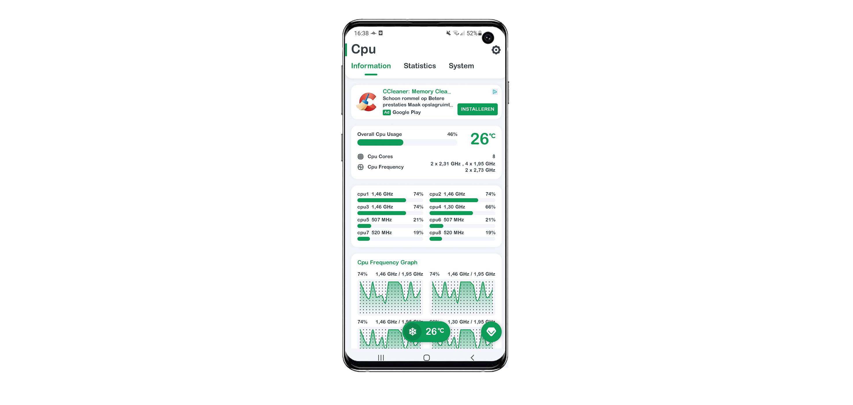 temperatuur meten van je smartphone