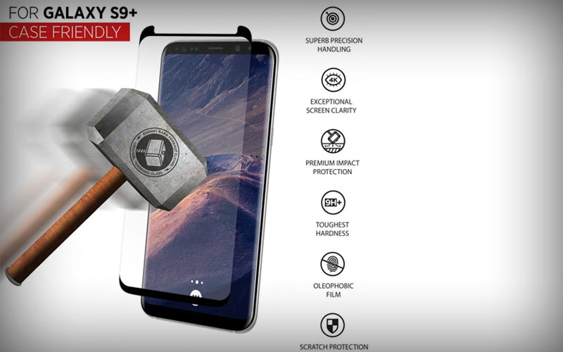 Thor S9 Plus screenprotector