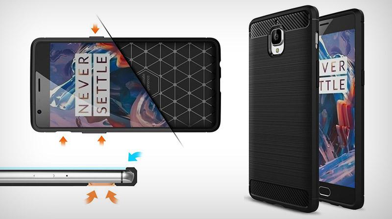 Stevig OnePlus 3T TPU hoesje