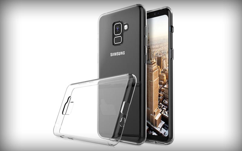 Samsung Galaxy A8 2018 Transparant Hoesje