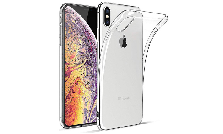 transparant iPhone XS MAX hoesje