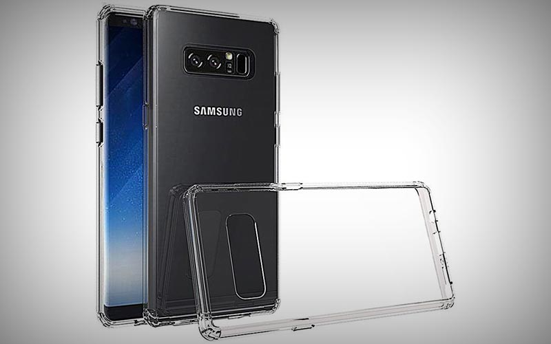 Transparant Samsung Galaxy Note 8 hoesje