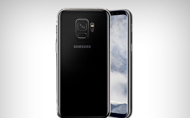 Transparant Samsung Galaxy S9 hoesje