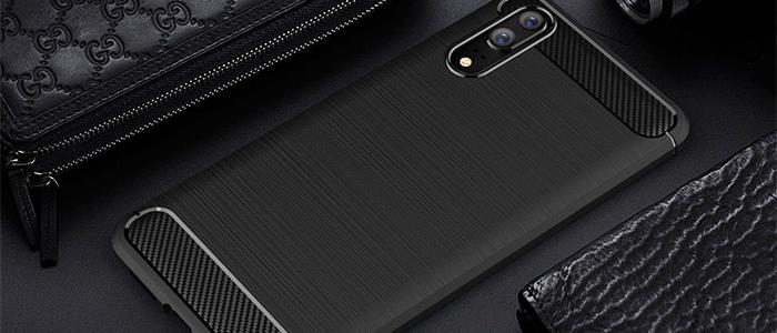 Geborsteld TPU Hoesje Huawei P20