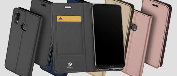 Dux Ducis Premium Bookcase Huawei P20