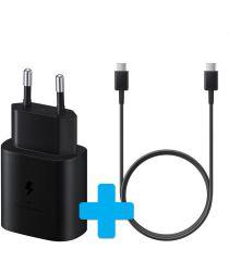 Originele Samsung USB-C Snellader met Samsung USB-C naar USB-C Kabel