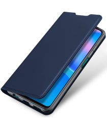 Dux Ducis Skin Pro Series Huawei P Smart 2021 Hoesje Blauw