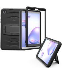 Samsung Galaxy Tab A 8.4 (2020) Hybride Kickstand Hoes Zwart