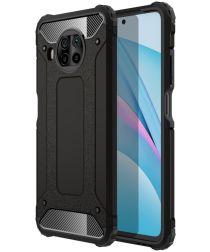 Xiaomi Mi 10T Lite 5G Hoesje Hybride Shock Proof Back Cover Zwart
