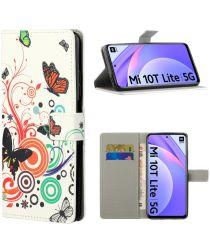 Xiaomi Mi 10T Lite Vlinders Print Book Case