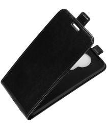 Nokia 3.4 Hoesje Verticale Flip Case Zwart
