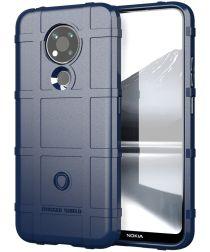 Nokia 3.4 Hoesje Shock Proof Rugged Shield Blauw