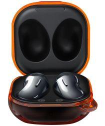 Samsung Galaxy Buds Live/Buds 2/Pro Hoesje Hard Plastic Case Oranje