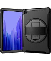 Samsung Galaxy Tab A7 (2020) Hybride Hoes 360 Graden Kickstand Zwart