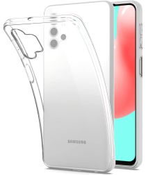 Samsung Galaxy A32 5G Hoesje Back Cover Dun TPU Transparant
