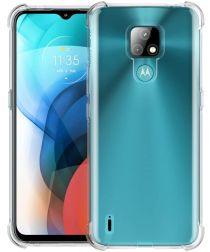 Motorola Moto E7 Hoesje Schokbestendig Transparant