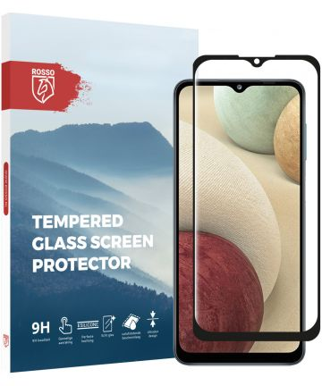 Rosso Samsung Galaxy A12 9H Tempered Glass Screen Protector Screen Protectors