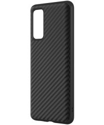RhinoShield SolidSuit Samsung Galaxy S20 FE Hoesje Carbon Fiber