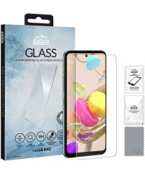 Eiger 2.5D Glass LG K42 / K52 Tempered Glass Screenprotector