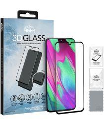 Eiger 3D Glass Full Screen Samsung Galaxy A40 Screenprotector