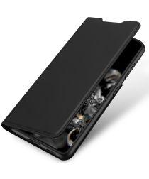 Dux Ducis Skin Pro Series Samsung Galaxy S21 Hoesje Wallet Case Zwart