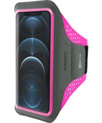 Mobiparts Comfort Fit Sport Armband Apple iPhone 12/12 Pro Roze