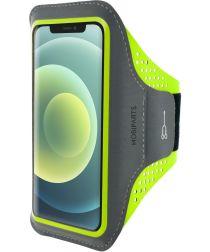 Mobiparts Comfort Fit Sport Armband Apple iPhone 12 Mini Groen