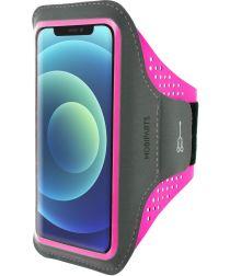 Mobiparts Comfort Fit Sport Armband Apple iPhone 12 Mini Roze