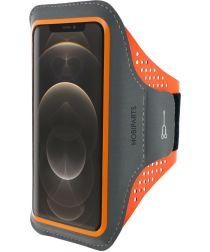Mobiparts Comfort Fit Sport Armband Apple iPhone 12 Pro Max Oranje
