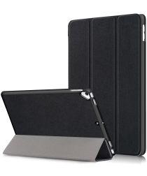 Apple iPad 10.2 2019 / 2020 Hoesje Tri-Fold Book Case Zwart