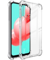 IMAK Samsung Galaxy A32 Hoesje met Screenprotector Transparant