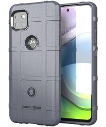 Motorola Moto G 5G Hoesje Shock Proof Rugged Shield Grijs