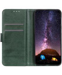Motorola Moto G9 Power Hoesje Wallet Book Case Groen