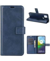 Motorola Moto G9 Power Portemonnee Bookcase Hoesje Blauw