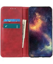 Xiaomi Poco M3 Hoesje Portemonnee Splitleer Book Case Rood